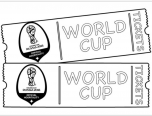 world cup 2018 ticket coloring page