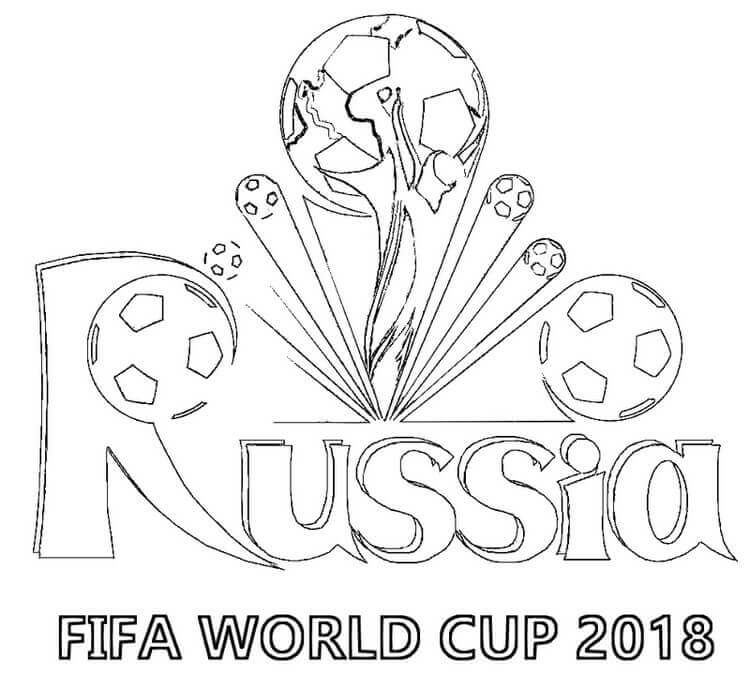 fifa world cup russia 2018 coloring pages for kids