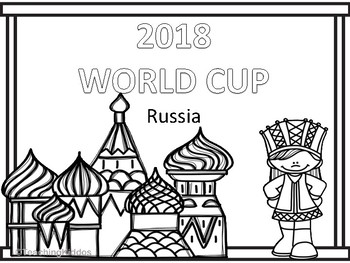 russia 2018 wcup coloring pages