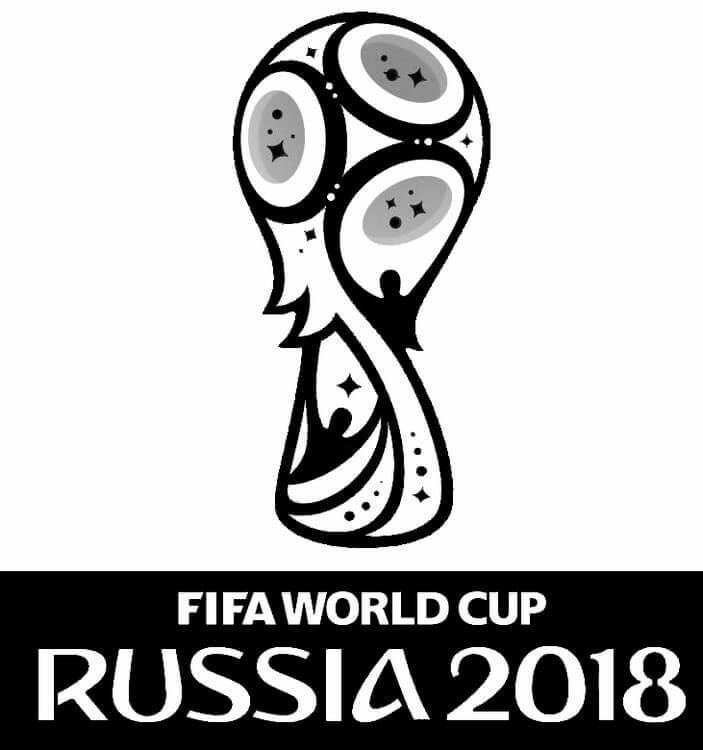 russia free world cup 2018 coloring page