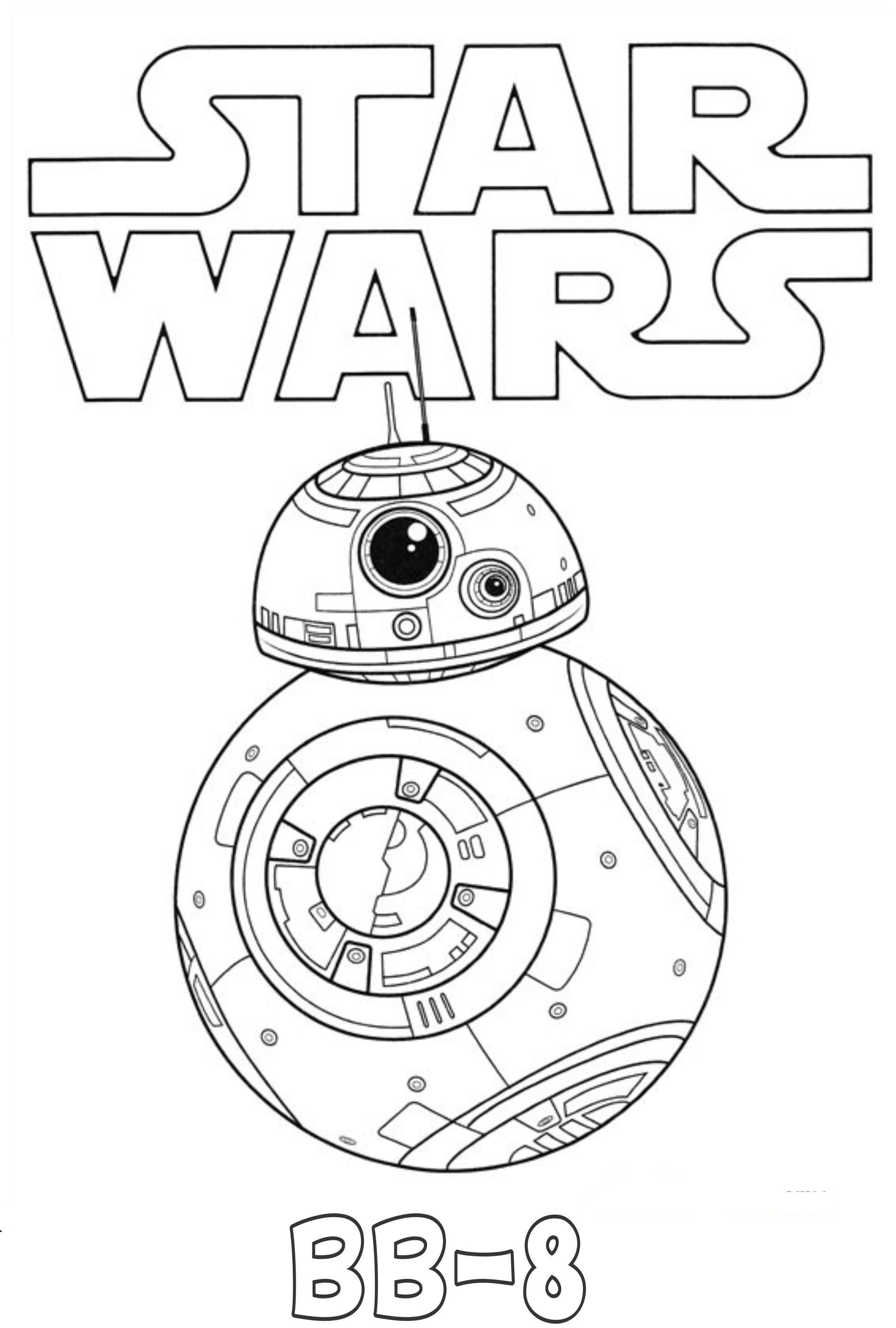 bb8 Coloring Page