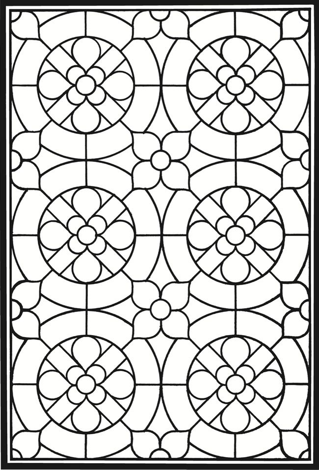 for boys Stained Glass Coloring Pages for Adults - Best Coloring Page... for boys