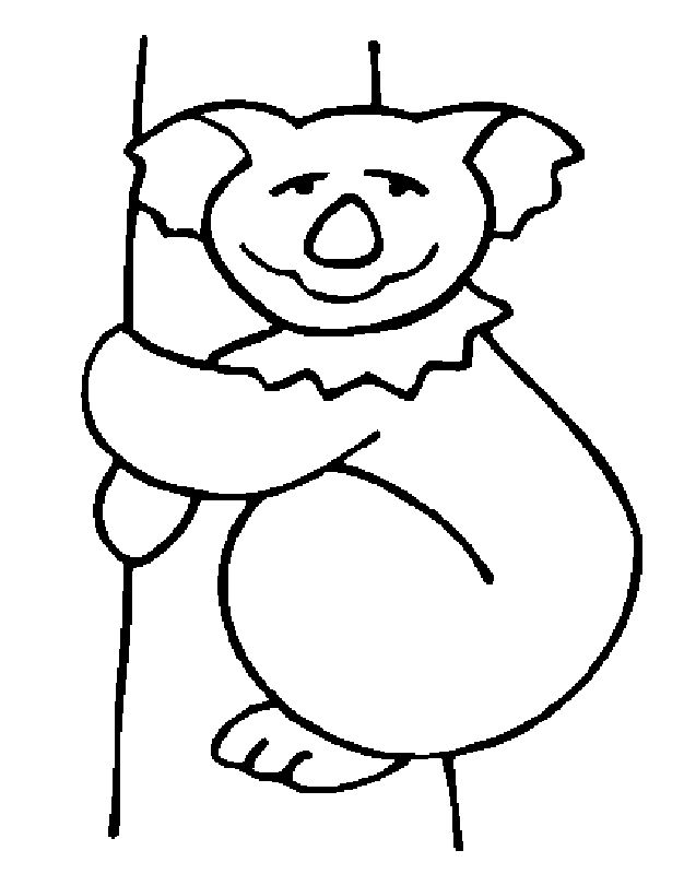 for boys Free Printable Koala Coloring Pages For Kids for boys