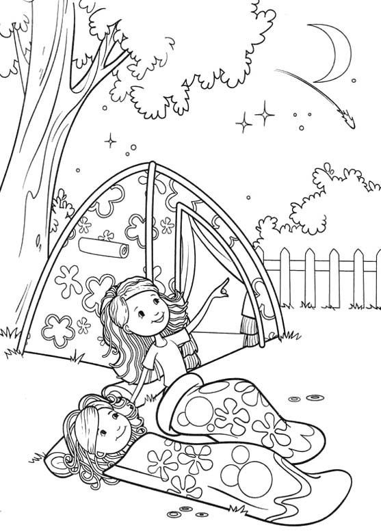 printable Summer Coloring Pages for Kids. Print them All for Free. already colored