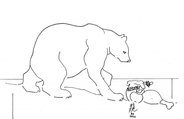 for boys Free Printable Polar Bear Coloring Pages For Kids preschool