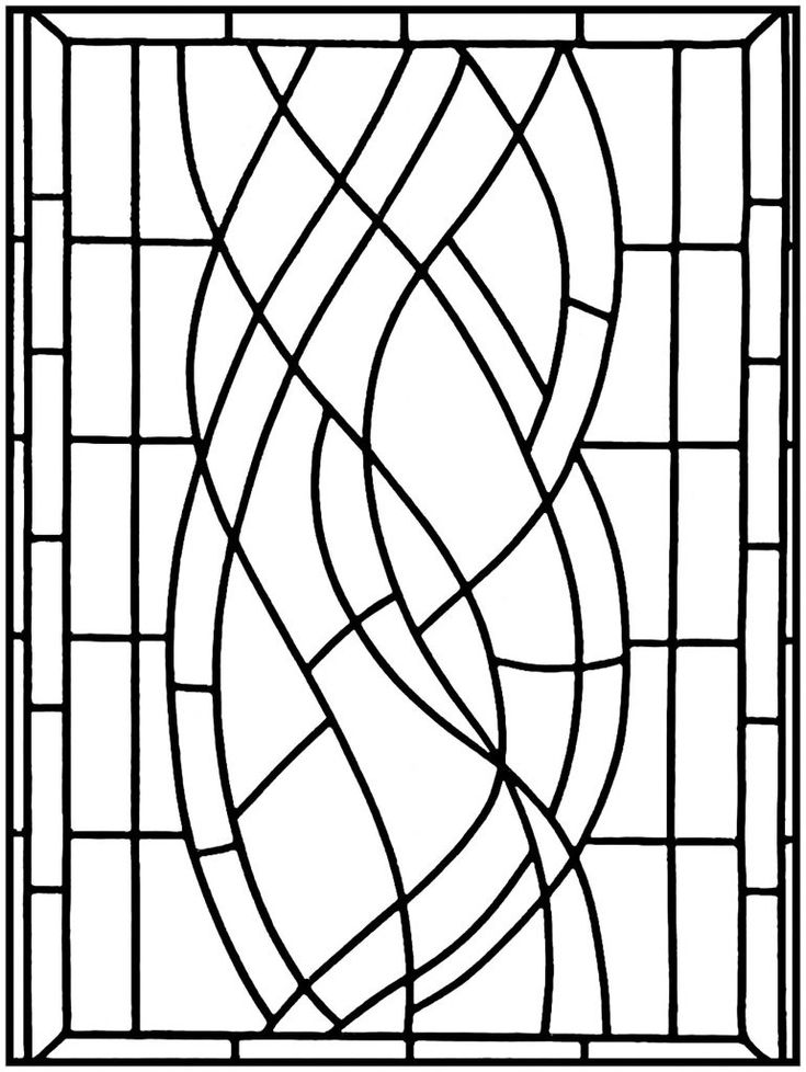 for toddlers Stained Glass Coloring Pages for Adults - Best Coloring Page... free
