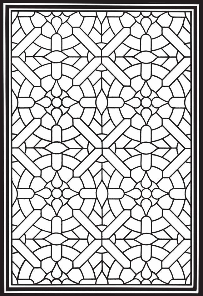 for sunday school Stained Glass Coloring Pages for Adults - Best Coloring Page... for sunday school