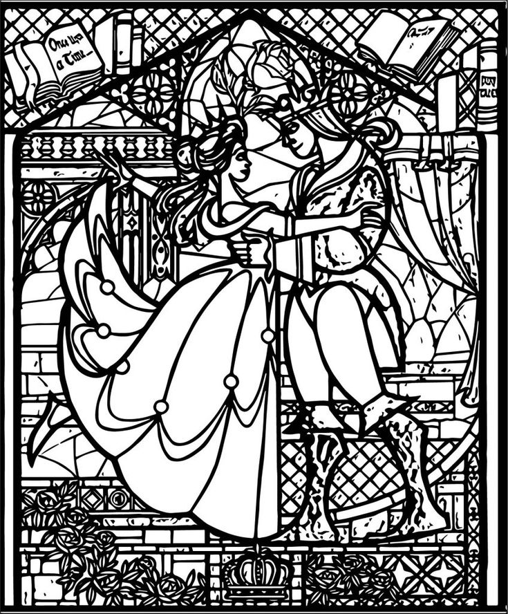 toddler Stained Glass Coloring Pages for Adults - Best Coloring Page... pdf