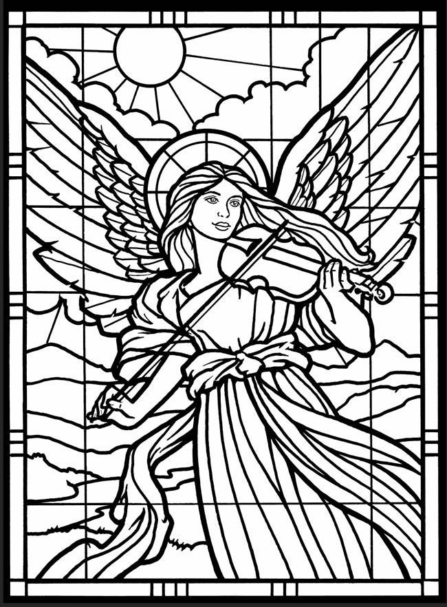 for toddlers Stained Glass Coloring Pages for Adults - Best Coloring Page... toddler