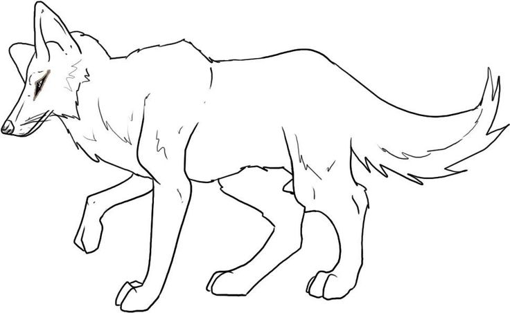 for boys Free Printable Coyote Coloring Pages For Kids toddler