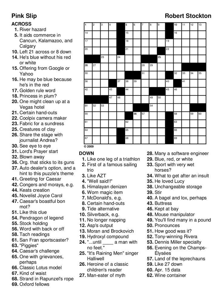 for teens Crossword Puzzles for Adults - Best Coloring Pages For Kids to print out