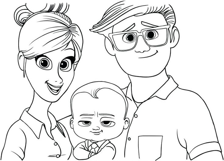 online Boss Baby Coloring Pages - Best Coloring Pages For Kids preschool