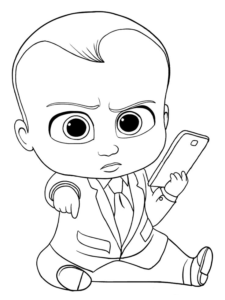 toddler Boss Baby Coloring Pages - Best Coloring Pages For Kids preschool
