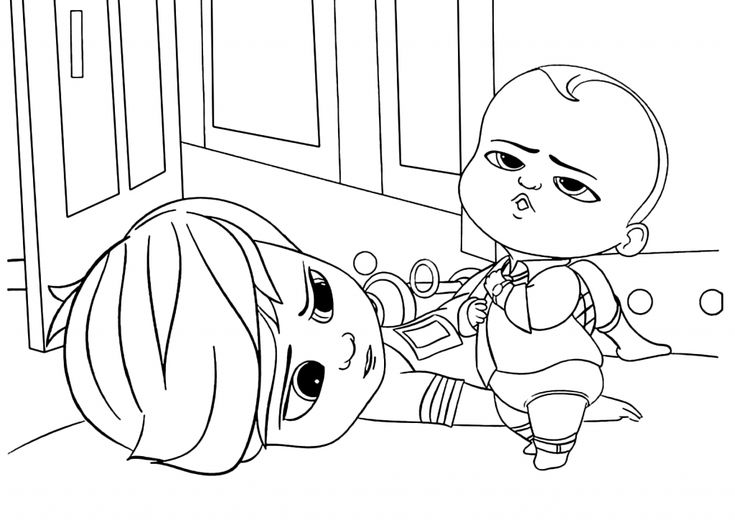 for adults Boss Baby Coloring Pages - Best Coloring Pages For Kids for teens