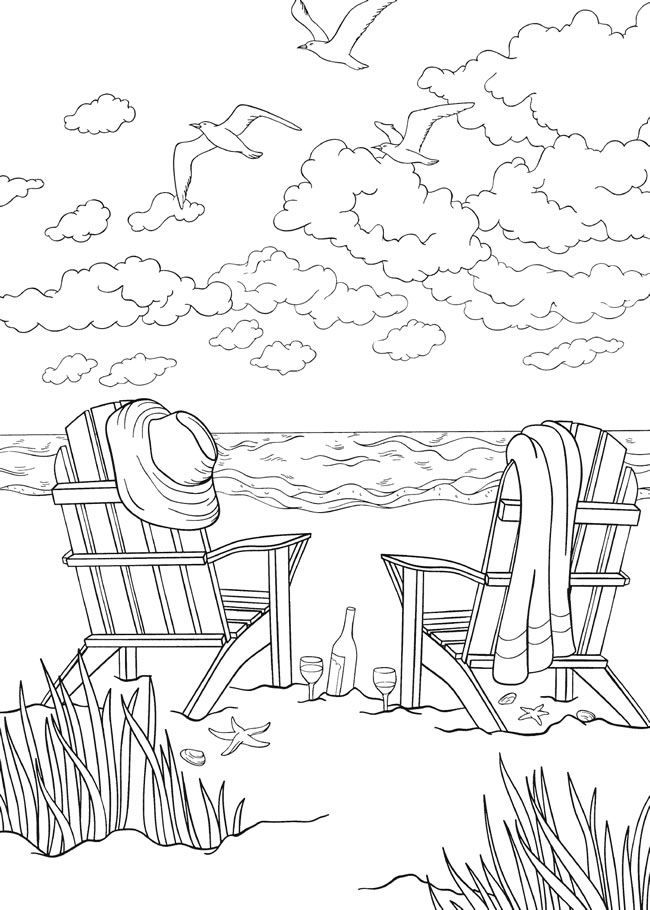 for adults Summer Coloring Pages for Kids. Print them All for Free. online