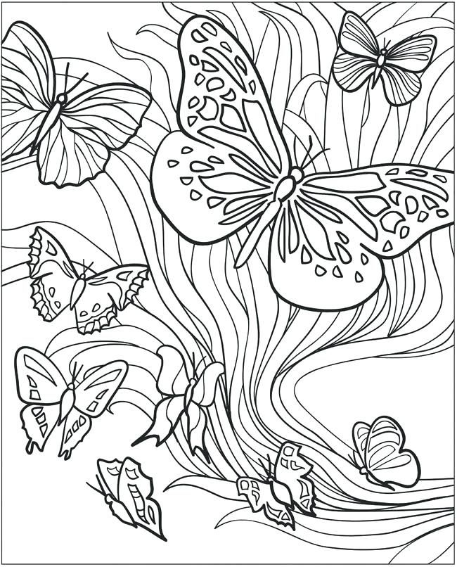 toddler Butterfly Coloring Pages for Adults - Best Coloring Pages Fo... for teens