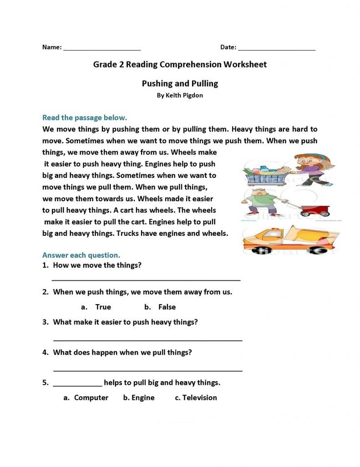 for girls 2nd Grade Reading Worksheets - Best Coloring Pages For Kids pdf