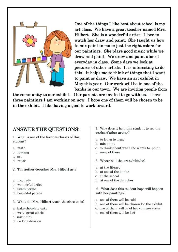 for sunday school 2nd Grade Reading Worksheets - Best Coloring Pages For Kids to print out