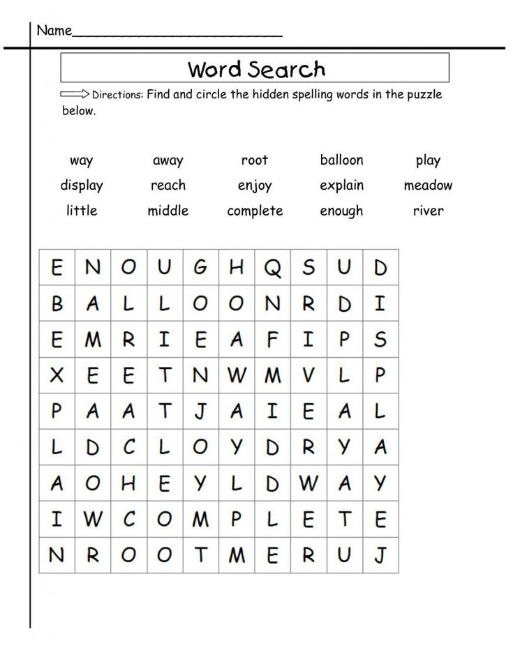 to print out 2nd Grade Word Search - Best Coloring Pages For Kids for boys