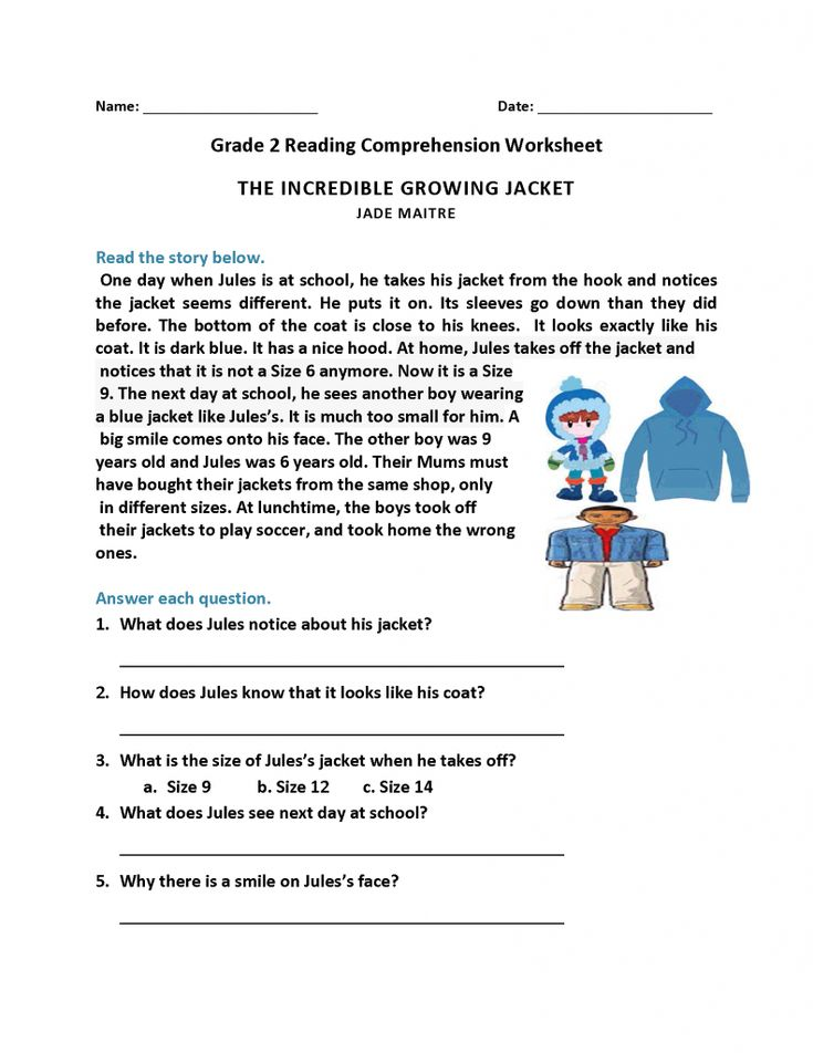 easy 2nd Grade Reading Worksheets - Best Coloring Pages For Kids toddler