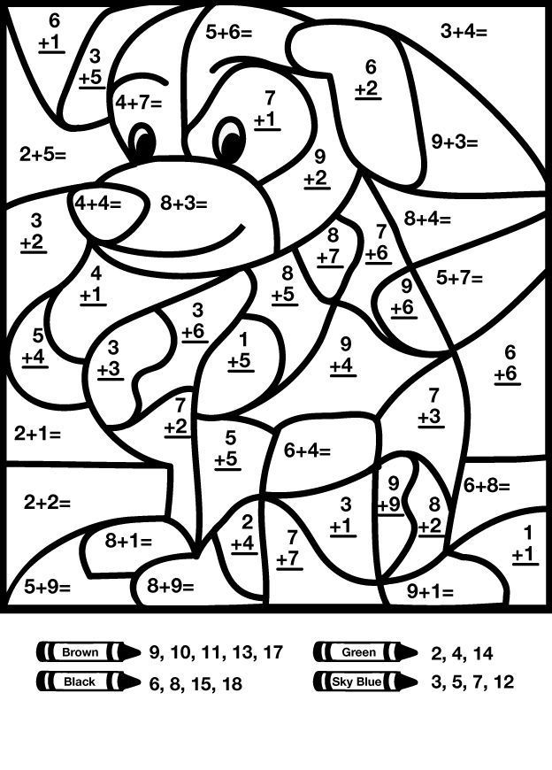 to print out Free Printable Color by Number Coloring Pages - Best Colorin... for boys