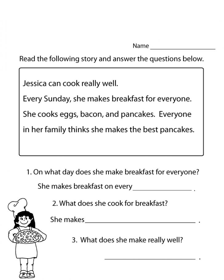 already colored 1st Grade Reading Worksheets - Best Coloring Pages For Kids toddler