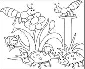 Free Spring Children's Coloring Sheets | Learning Printable